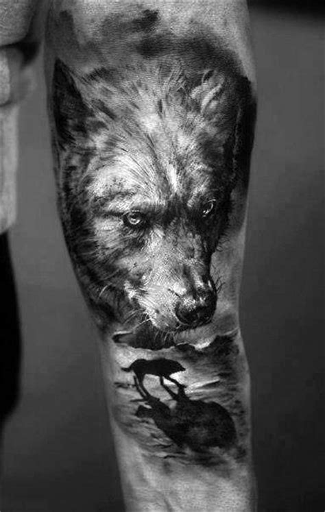 3d wolf tattoo 70 wolf designs for masculine idea inspiration