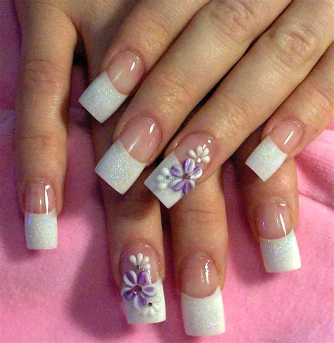 pattern acrylic nails 25 cute acrylic nail designs for girls 2015