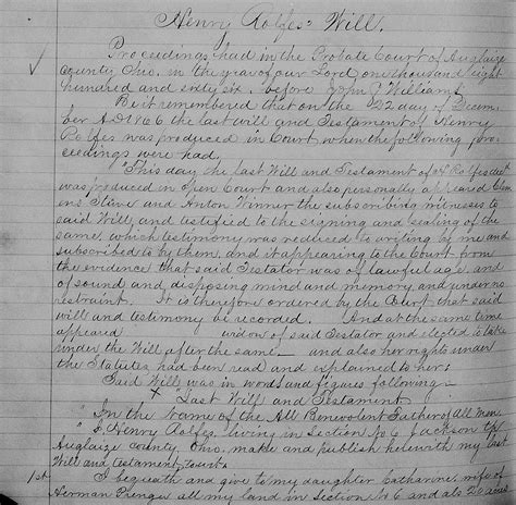 Ohio County Records 1840 2001 Rolfes The Spiraling Chains Schroeder Tumbush Family Trees