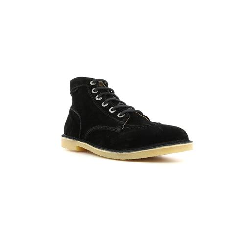 Kickers Gum Sole Black s shoes orilegend black kickers