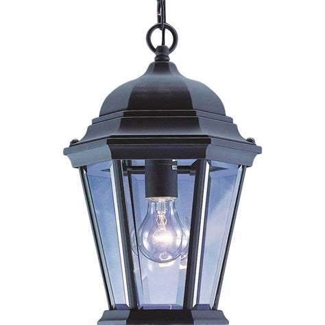 Homedepot Outdoor Lighting Bel Air Lighting Stewart Ceiling 1 Light Outdoor Rust Black Cfl Pendant Pl 4183 Rt The Home Depot