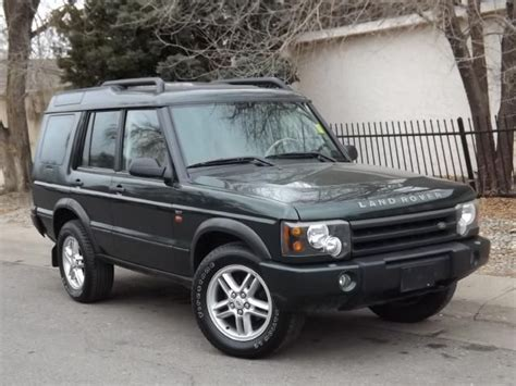 range rover dark green 2004 land rover discovery dark green with tan black