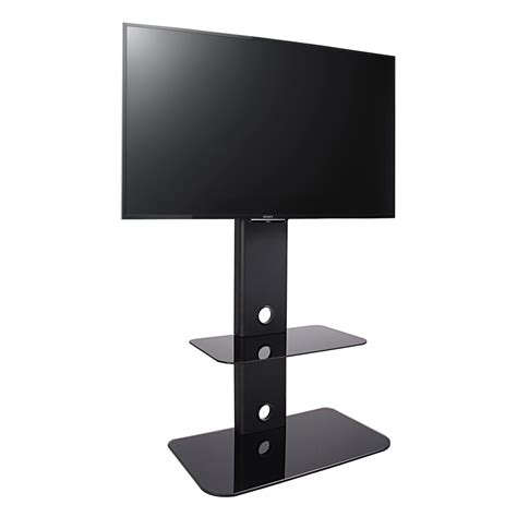 Murah Standing Tv Bracket Tv Standing 32 60 High Quality fitueyes floor tv stand with mount swivel for 32 60 inches tv ebay