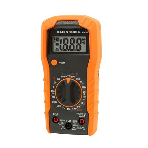 Multimeter Manual digital multimeter manual ranging 600v mm300 klein