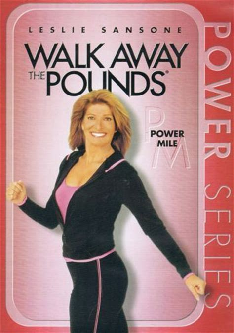 leslie sansone walk away the pounds power mile dvd new