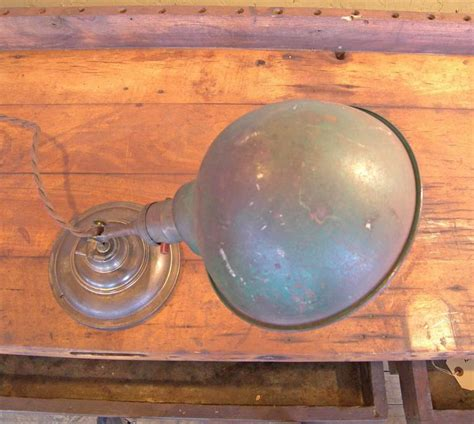 antique brass task l antique vintage industrial adjustable and brass desk