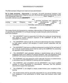 Corporation Agreement Template by Sle Business Partnership Agreement Form 8 Free