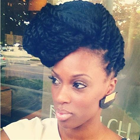marley hair updo styles 35 stunning kinky twists styles you ll love to try