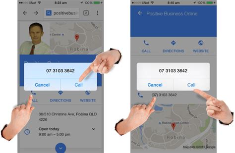 Maps Phone Number Lookup Clickable Phone Numbers Generate Leads