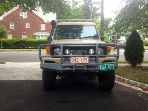 purchase used 1988 toyota land cruiser hj75 diesel troopy