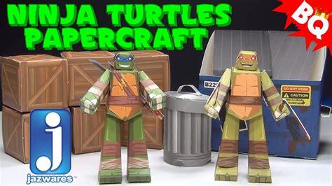 Tmnt Papercraft - turtles papercraft turtles pack jazwares review