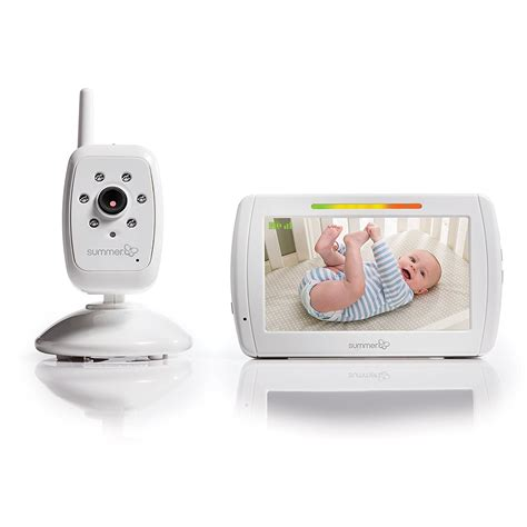 monitor baby summer infant in view digital color baby monitor