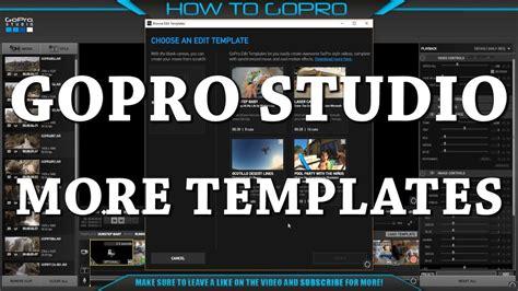 gopro studio templates more templates for gopro studio