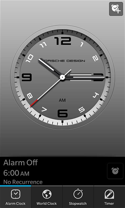 berryleaks presents porsche design clock for z10 blackberry forums at crackberry