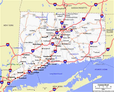 printable connecticut road map connecticut pet friendly road map by 1click