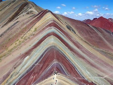 colors of the mountain vinicunca the seven color mountain peru this week