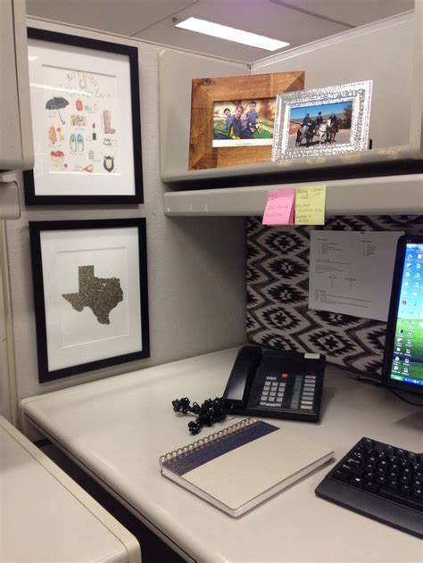 Work Desk Ideas Cubicle Decor Desk Accessories For The Home Pinterest Glitter Black Picture And Photo