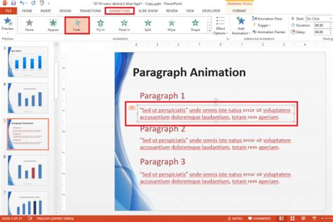animation layout fade in powerpoint 2013 templates animated choice image