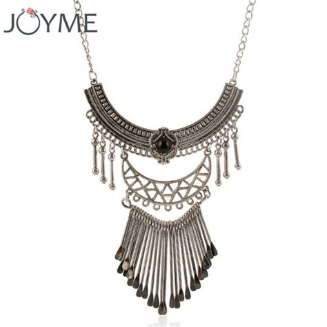 Kalung Murah Choker Korea Multilayer Silver aliexpress buy multi layer necklace silver statement necklace for indian jewelry