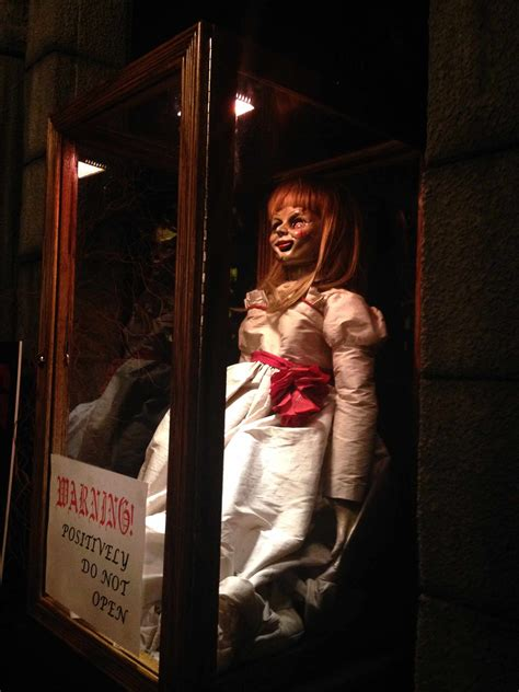 annabelle doll america the annabelle doll makes an appearance in new york the