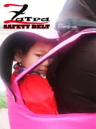 Gendongan Bayi Untuk Naik Sepeda Motor zatra sabuk bonceng anak karakter 0857 5822 1822 zatra
