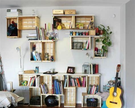 como decorar mi cuarto con huacales c 243 mo decorar una habitaci 243 n con material reciclado