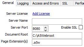 xp tutorial change port from 80 to 8080 developmentserver