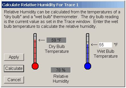 What Is Comfortable Humidity by Calculate Humidity Using Bulb Temperature Free