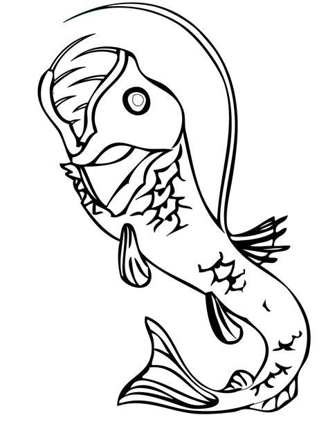 viper fish clipart