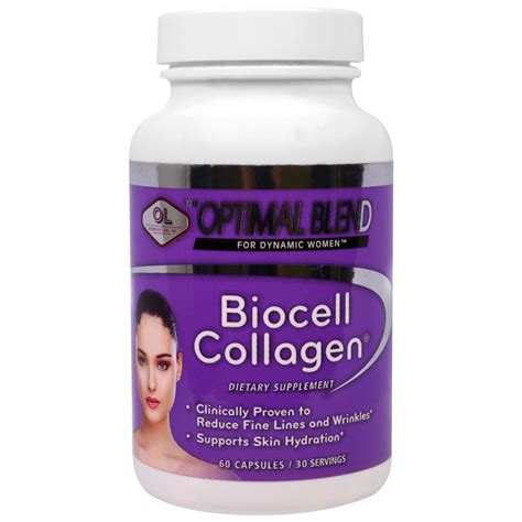 Biocell Collagen olympian labs inc optimal blend biocell collagen for 60 capsules iherb