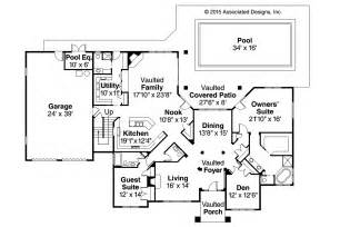 House Floor Plans Designs Tuscan House Plans Meridian 30 312 Associated Designs