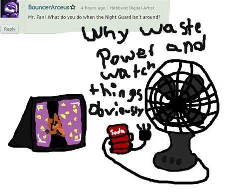 how to a fnaf fan ask the fan fnaf fan mcfanzy deviantart