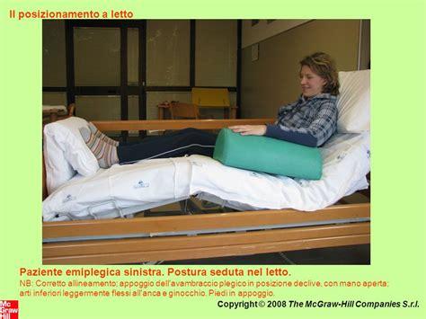 nel letto il posizionamento a letto ppt scaricare