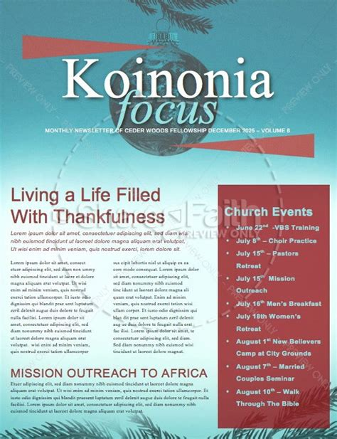 christmas newsletter templates  sharefaith magazine