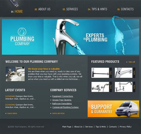 grande premium bootstrap website templates together with 10 best plumbing website templates a listly list