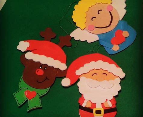 hacer arbol de navidad con goma adornos de navidad con goma 2016 manualidades