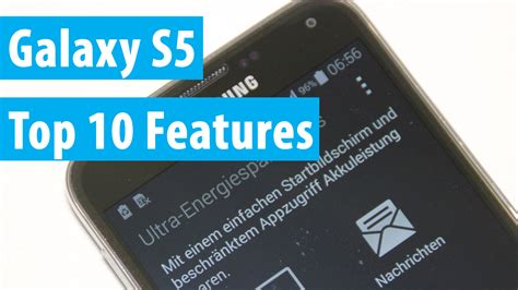 galaxy s5 best features samsung galaxy s5 top 10 features und funktionen