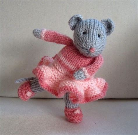 mouse knitting pattern darcy the mouse doll knitting pattern instant