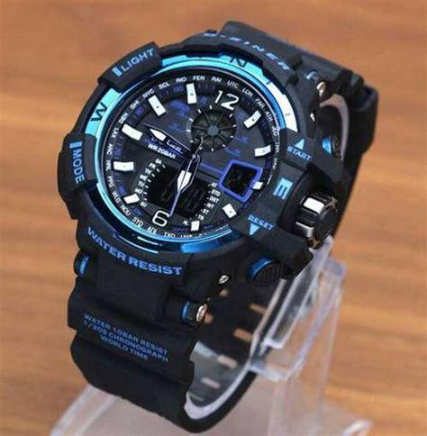 Jam Tangan Gc 090 Hitam List Biru jam tangan d ziner dz 8068 original jam d ziner ori