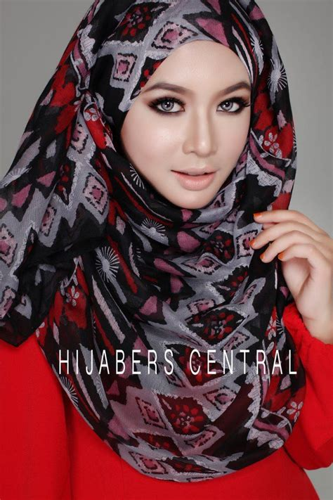 Jilbab Print Scarf the scarf print styles dress and tutorial