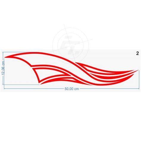 Auto Aufkleber Streifen by Autoaufkleber Streifen Wellenlinie