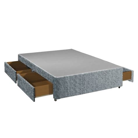 King Size Base With Drawers by 6ft King Size With 4 Drawer Storage Divan Bed