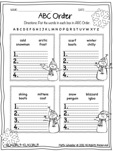 printable abc order games 68 best abc order images on pinterest reading writing