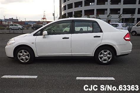nissan tiida white 2012 nissan tiida latio white for sale stock no 63363