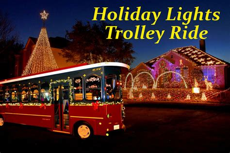 holiday lights trolley ride big d fun toursbig d fun tours