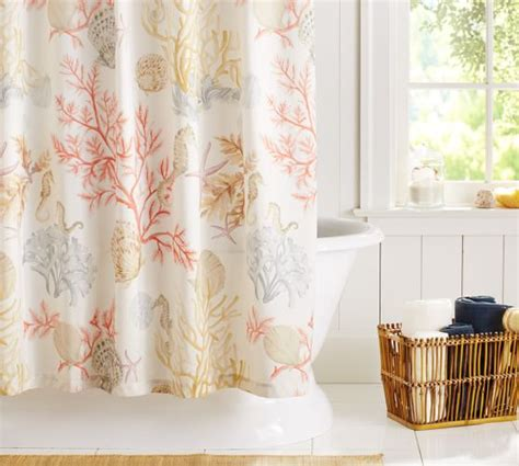 shower curtain pottery barn atlantic shower curtain pottery barn