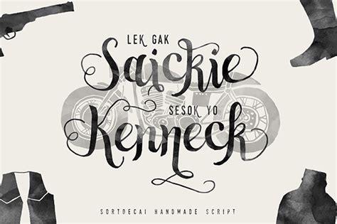 Handmade Script Font - sortdecai handmade script typeface on behance