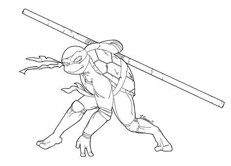 ninja turtle coloring page donatello teenage mutant ninja turtle coloring pages coloringsuite com