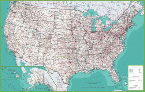 large map of usa large detailed map of usa