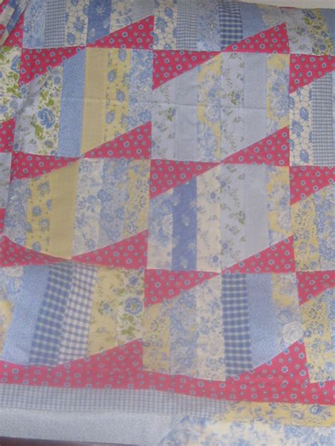 Adding Borders To Quilts by Adding Pieced Borders To Small Quilt